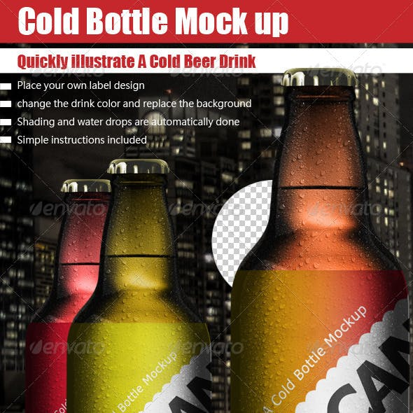 Cold Bottle Mock Up