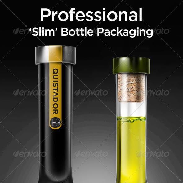 Tall Bottle Mock-Up