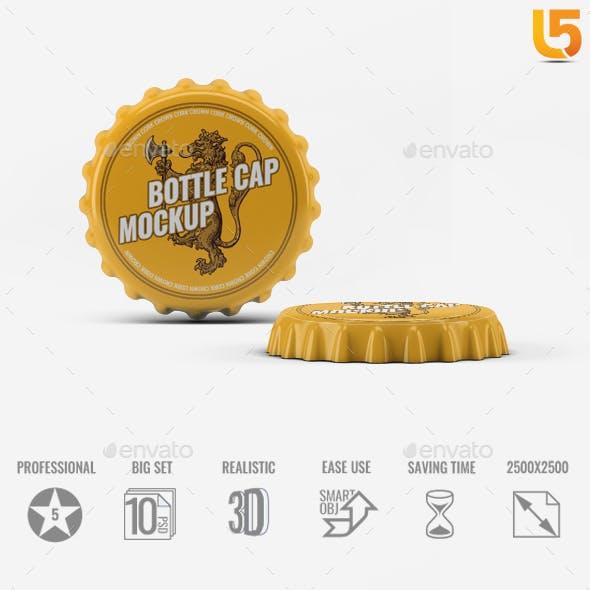 Bottle Cap Mock-Up