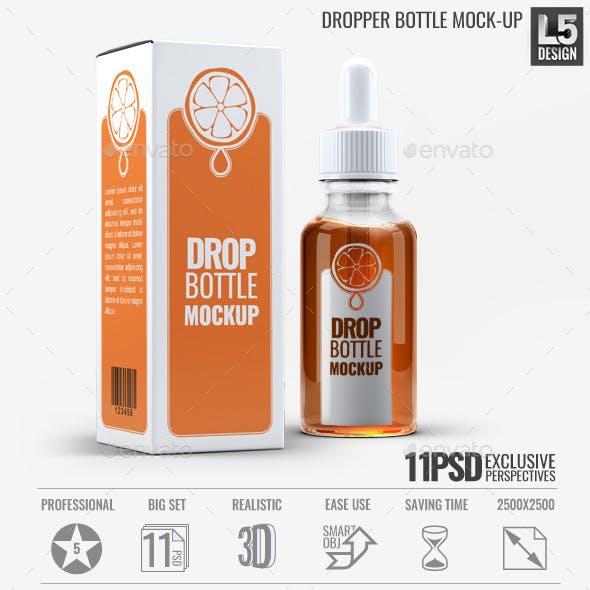 Dropper Bottle Mock-Up