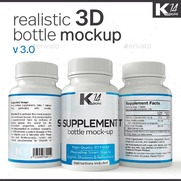 Supplement Bottle Mock-Up v3.0