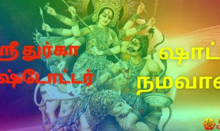 Durga Ashtottara lyrics in tamil with benefits, meaning and pdf