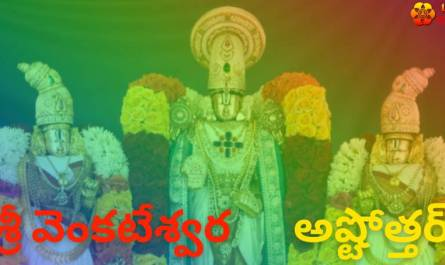 Venkateswara Ashtothram Stotram lyrics in telugu with meaning, benefits, pdf and mp3 song