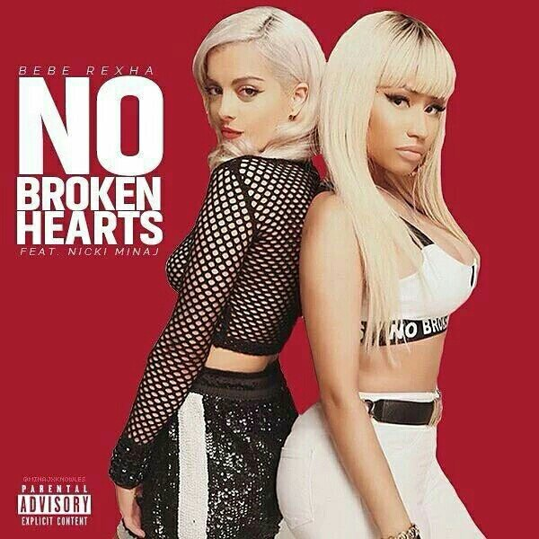 Bebe Rexha - No Broken Hearts ft. Nicki Minaj Lyrics