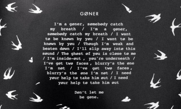 Twenty One Pilots - Goner Lyrics