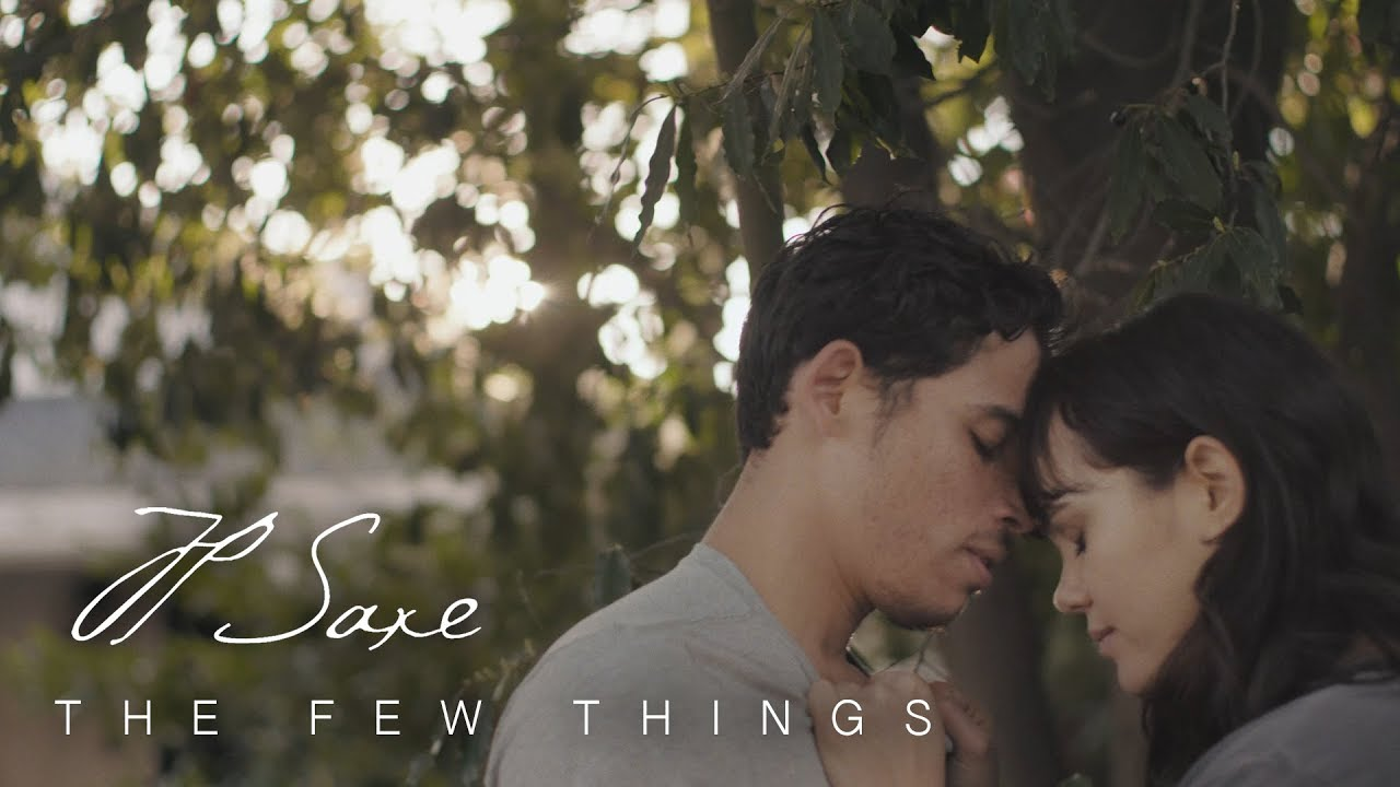 JP Saxe – The Few Things Lyrics