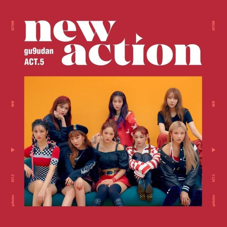 Act.5 New Action cover tracklist