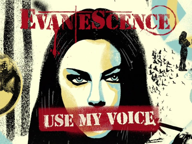 Evanescence - Use My Voice Lyrics