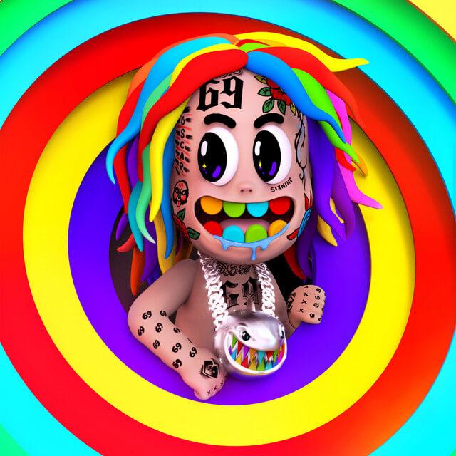 6ix9ine - TattleTales (Album Cover)