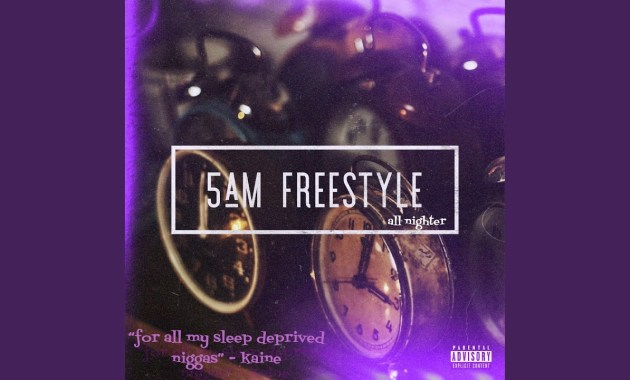 Duwap Kaine - 5am Freestyle (All Nighter) Lyrics