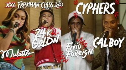 Fivio Foreign, 24kGoldn, Mulatto & Calboy - XXL Freshmen 2020 Cypher - Part 3 Lyrics