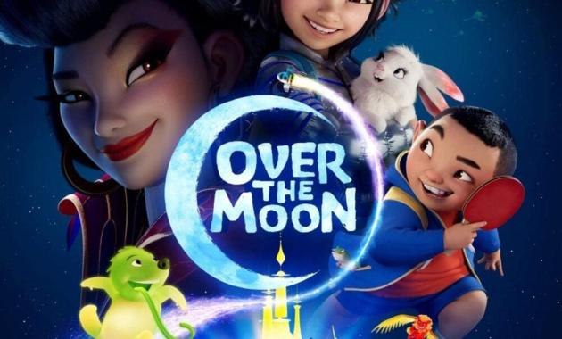 Over the Moon - On the Moon Above Lyrics