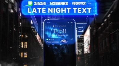 ZieZie - Late Night Text Lyrics
