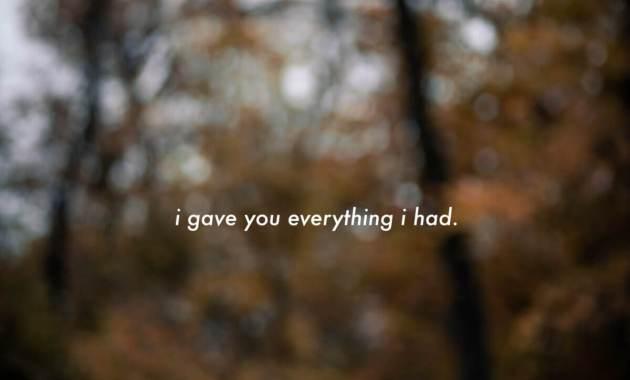 eli. - say those things Lyrics