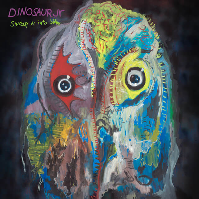 Dinosaur Jr. - Sweep It Into Space Album