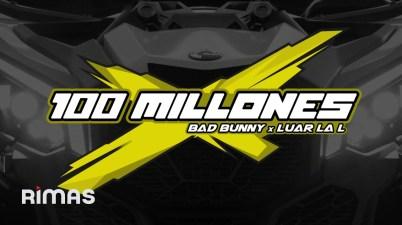 Bad Bunny - 100 MILLONES Lyrics