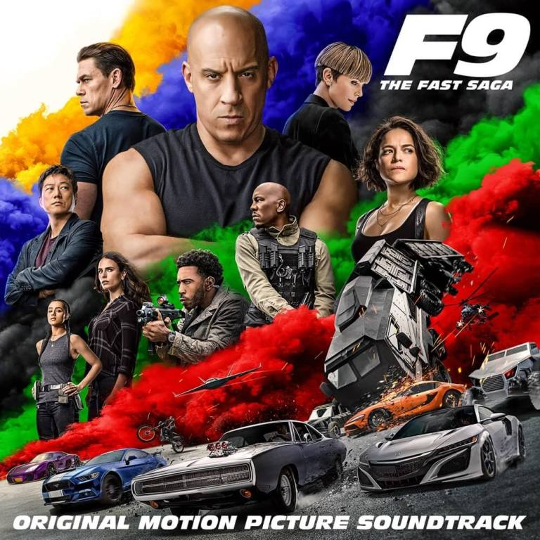 Fast & Furious 9 - The Fast Saga Album Soundtrack Lyrics