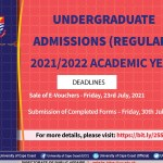 2021/2022 UCC Regular AND Undergraduate Admission Forms