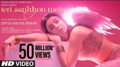 Photo of Teri Aankhon Mein Lyrics Divya K | Darshan R,Neha K