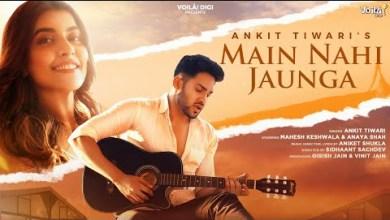 Photo of Main Nahi Jaunga Lyrics   Ankit Tiwari   Mahesh Keshwala