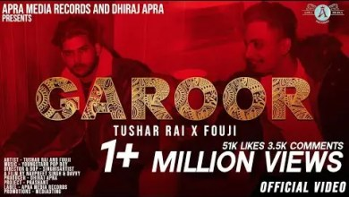 Photo of Garoor Lyrics | Tushar Rai | Fouji | YoungStarrPopBoy