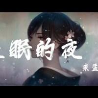 失眠的夜 Pinyin Lyrics And English Translation