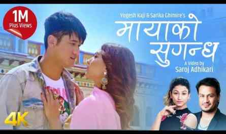 Mayako Sugandha lyrics | Sarika Ghimire | The Cartoonz Crew