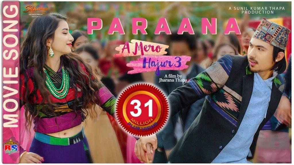 paraana lyrics | A MERO HAJUR 3 |Anmol KC & Suhana Thapa