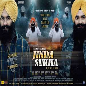 Jinda Sukha Anthem Lyrics From The Mastermind Jinda Sukha Movie by Ranjit Bawa & Lehmbur Hussainpuri