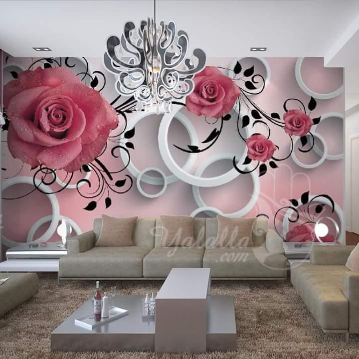 كتالوج ورق جدران 3d