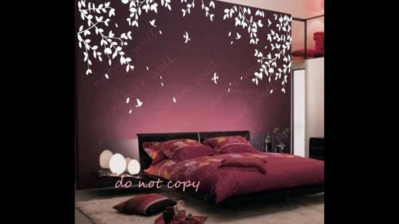 دهانات غرف نوم الوان حوائط لغرفة النوم عبارات