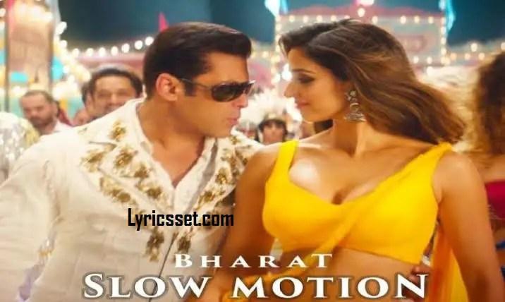 Aaja dub jau teri lyrics, Bharat, Salman Khan, Tiktok, Song Name- Slow Motion