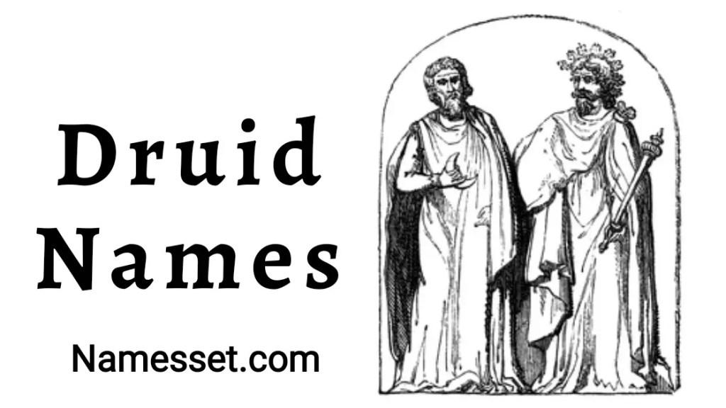 Best Druid Names Ideas