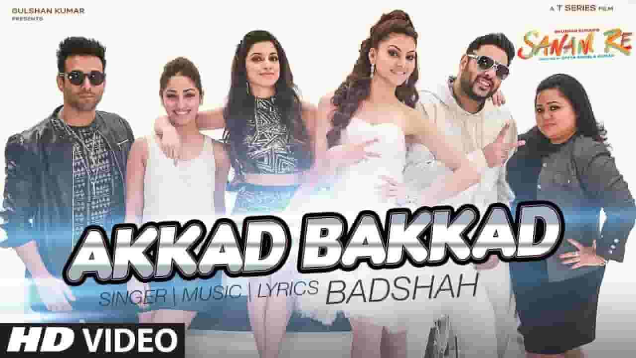 अक्कड़ बक्कड़ बोम्बे बो AKKAD BAKKAD Lyrics In HIndi