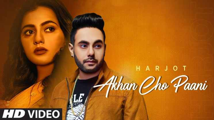 Akhan Cho Paani Lyrics In Hindi