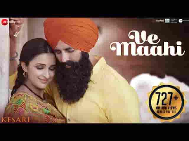 Mahi Menu Chadyo Na Lyrics - Arijit Singh | Kesari