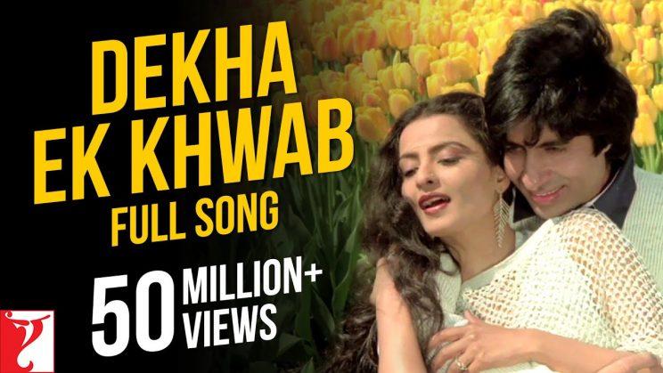 देखा एक ख्वाब Dekha Ek Khwab Lyrics In Hindi – Kishore Kumar