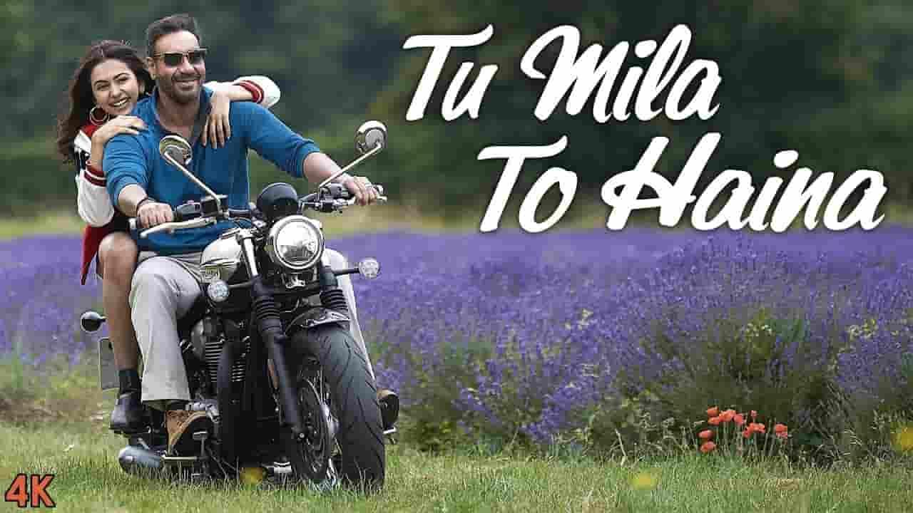 तू मिला तो है ना- Tu Mila To Haina Lyrics In Hindi - De De Pyar De