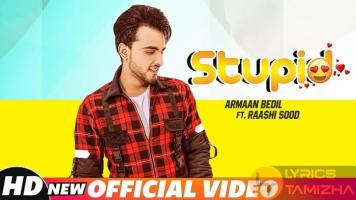 Stupid Song Lyrics Armaan Bedil ft Raashi Sood