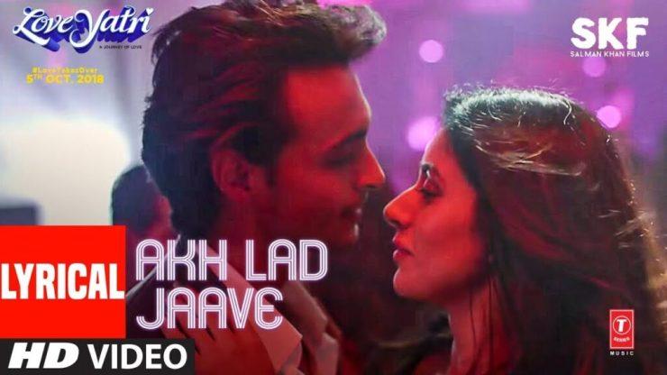 Akh Lad Jaave Lyrics