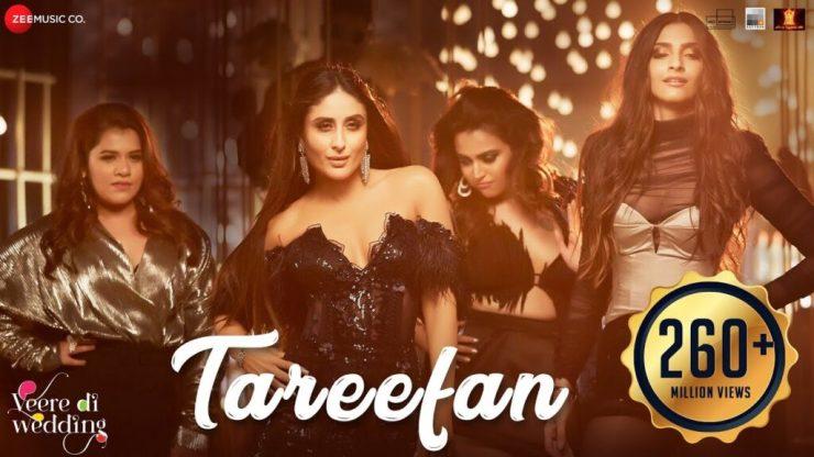 Tareefan Lyrics
