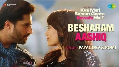 Besharam Aashiq Lyrics