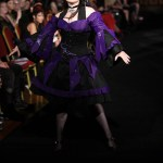 Black and purple gothic lolita dress