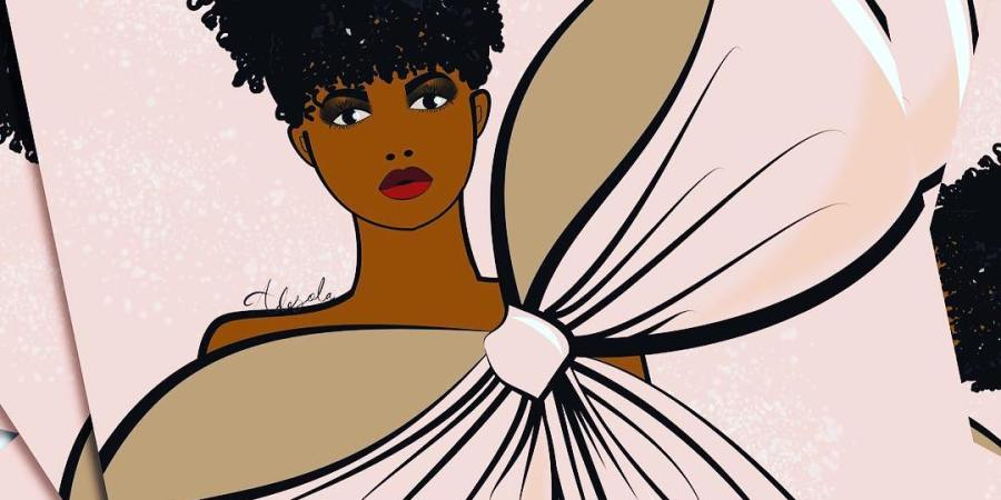 Meet Nigerian Fashion Illustrator | Adesola Lasisi
