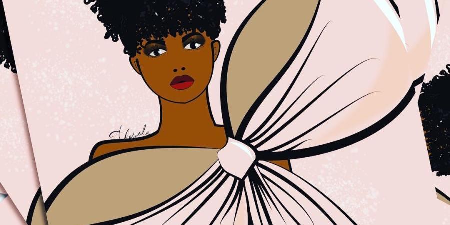 Meet Nigerian Fashion Illustrator | Adesola Lasisi