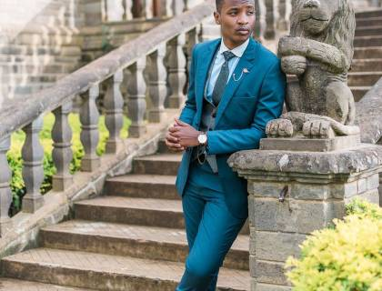 Male fashion blogger, The Dapper Brother