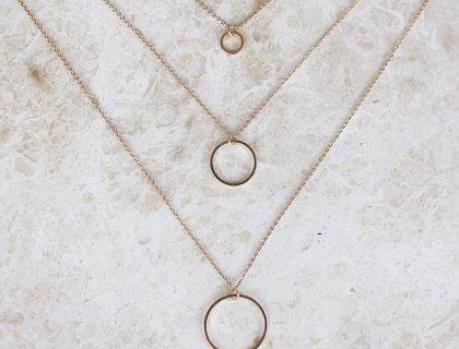 Minimal jewelry gold chains layered lysa africa