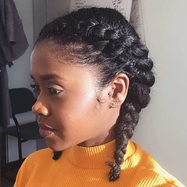 style natural hair