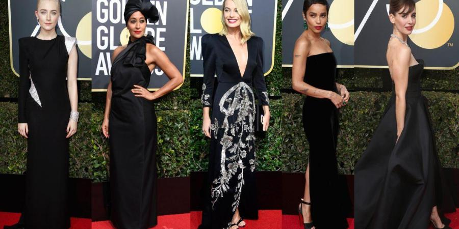 2018 Golden Globes Red Carpet | Black In Solidarity