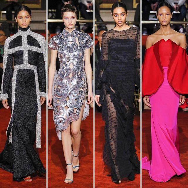 New York Fashion Week Christian Siriano Fashion Show Collection Lysa Africa